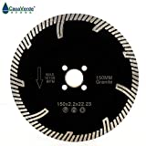 "Premium Quality Diamond Tubor Cutting Blade for Granite and Marble (6"")"