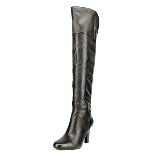 GUESS Womens High RUMELA Closed Toe Knee High Womens Fashion Boots Black Size 5.0 08ba47