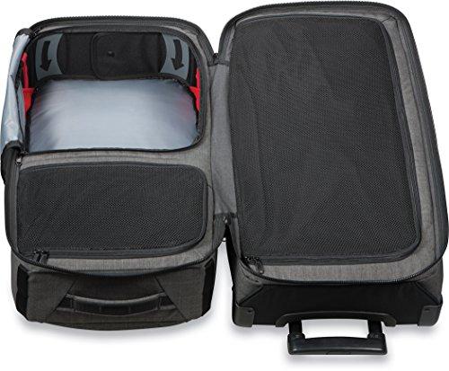 Dakine 10000784  - Unisex Split Roller Luggage Bag - Durable Construction - Split-Wing Collapsible Brace Level - Exterior Quick Access Pockets (Carbon, 85L) by Dakine (Image #3)