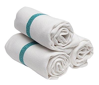 Diane DET005 Barber Towel, White