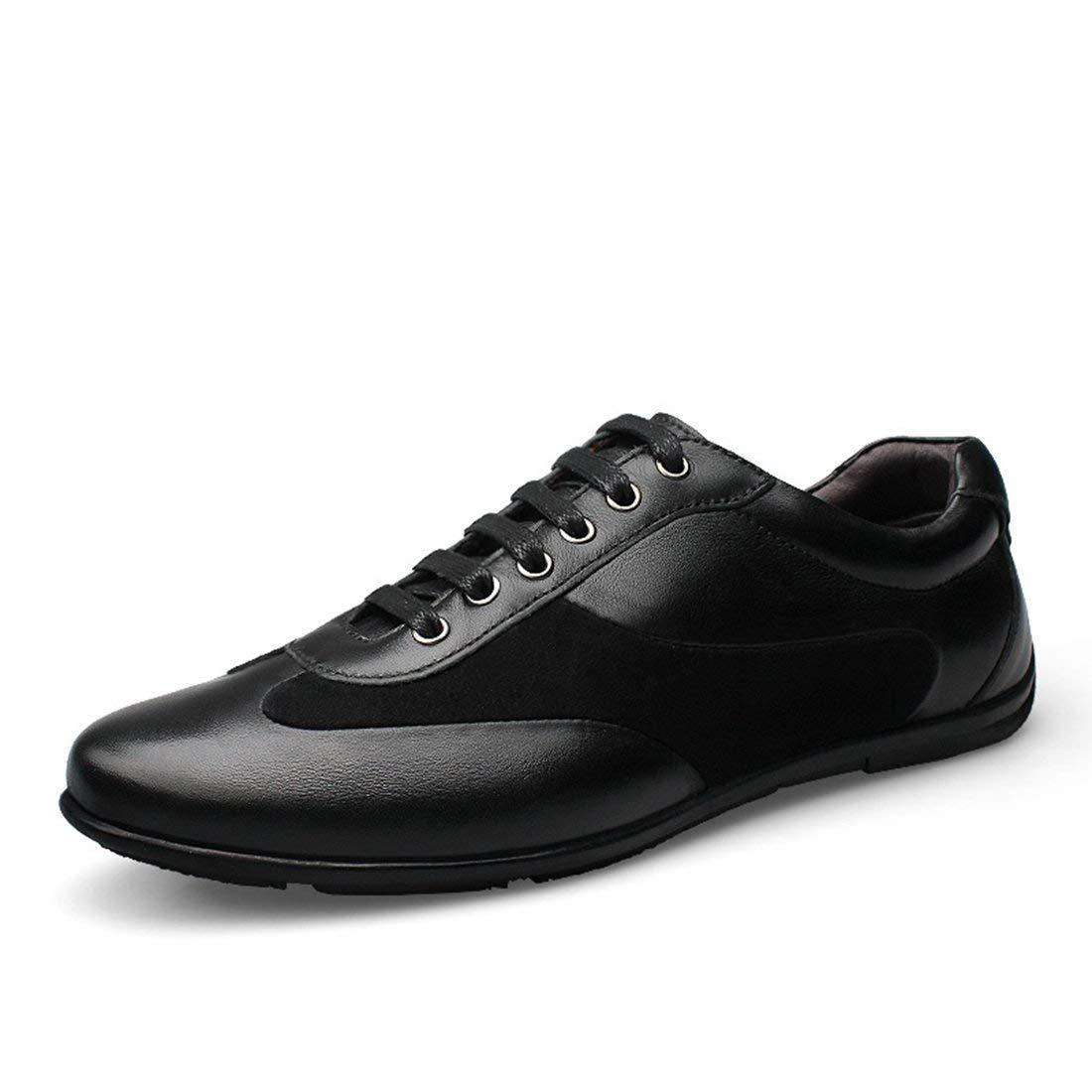HhGold Jungen-Männer Zweifarbige Zweifarbige Zweifarbige Klassische Schwarze Schnür-tägliche Turnschuhe UK 8 (Farbe   -, Größe   -) e322f6
