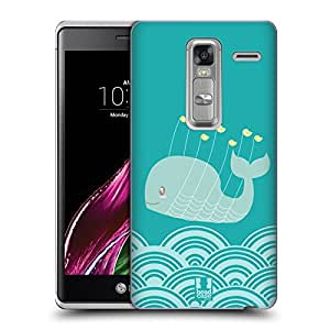 Head Case Designs Birds Kawaii Whale Hard Back Case for LG Ray / Zone