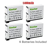 Kastar Battery (4-Pack) for GoPro HERO4 and GoPro AHDBT-401 - AHBBP-401 Sport Cameras
