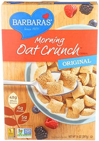 Breakfast Cereal: Barbara's Morning Oat Crunch
