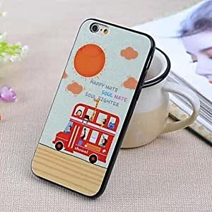 YULIN Specially Designed Pattern TPU Cover for iPhone 6