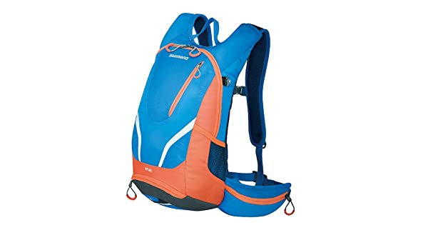 SHIMANO BGDPMBNW12U60 - Mochila SH Rokko 12l Azul/Naranja: Amazon.es: Deportes y aire libre