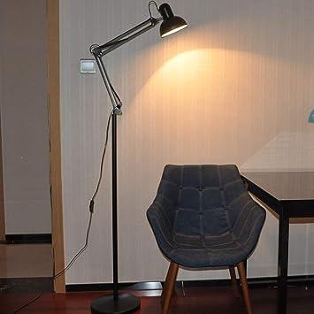 AG Lámpara de pie Led para Lectura en el hogar, lámpara de ...