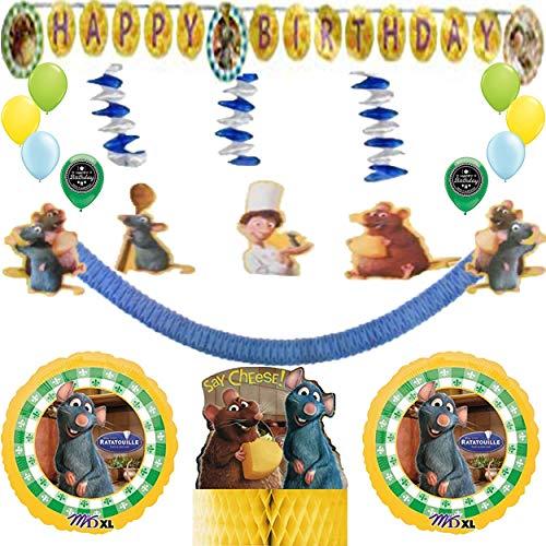 - Ratatouille Party Supplies Balloon Decoration Bundle