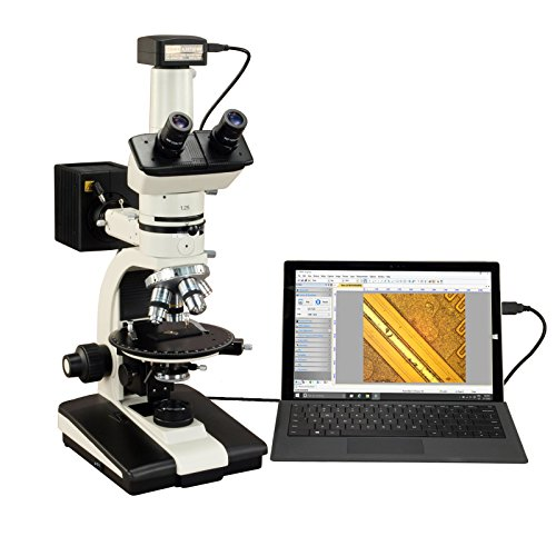 OMAX 50X-787.5X 18MP USB3.0 Trinocular Ore Petrographic Polarizing Microscope with Bertrand Lens