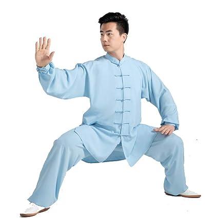 AMhuui Traje de Tai Chi para Mujer Uniforme marcial, Ropa ...