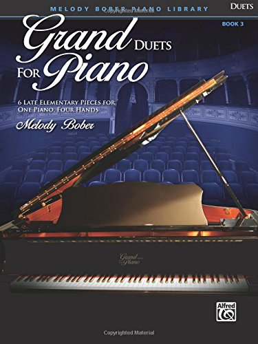 Download Grand Duets for Piano, Bk 3: 6 Late Elementary Pieces for One Piano, Four Hands pdf