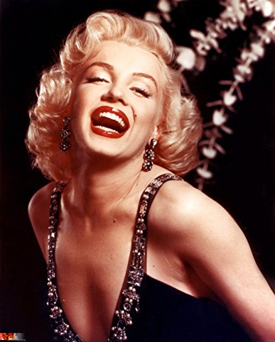 Marilyn Monroe Tin Sign (Old Tin Sign Marilyn-Monroe Big Smile Celebrity Hollywood Stars Of The Past)