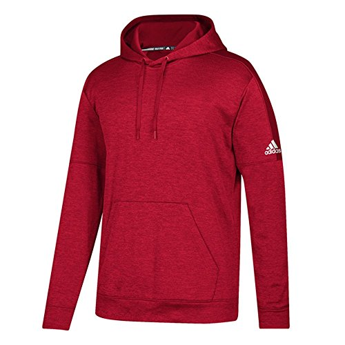 (adidas Youth Team Issue Pullover Hoodie Red L)