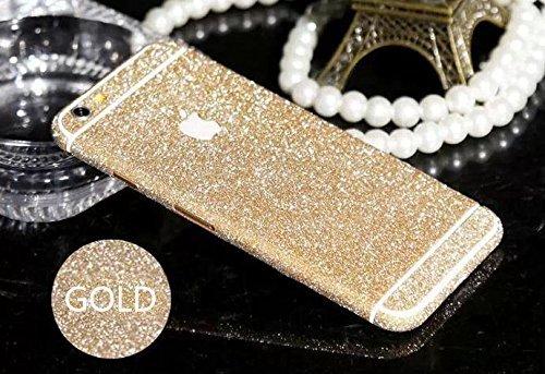 iPhone 6 Screen Protector,Nice Green(TM) Luxury Glamorous Glitter Shiny Bling Crystal Rhinestone Screen Protector Film Sticker for Iphone 6 (iphone 6 [4.7 inch], gold)