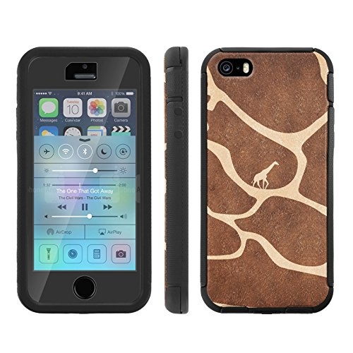 Mobiflare, Total Ballistic Jacket Phone Case, for [iPhone 5/5S] - Giraffe Journey