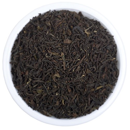 Premium Darjeeling Loose Leaf Black Tea (Makes 112 Cups), 2018 Prime Second Flush Tea with Powerful Anti-oxidants - Perfect for Iced Tea, Kombucha and Hot Tea, Packed at Source, 8 ounces