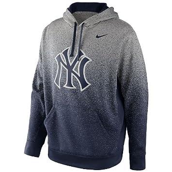 quality design 99b21 c63b7 Amazon.com: Nike Men's New York Yankees KO Therma Fit Hoodie ...
