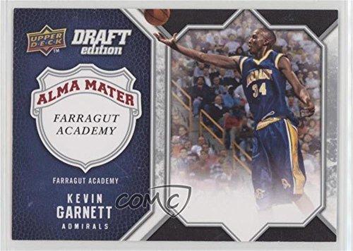 Draft Garnett Kevin - Kevin Garnett (Basketball Card) 2009-10 Upper Deck Draft Edition - Alma Mater #AM-KG