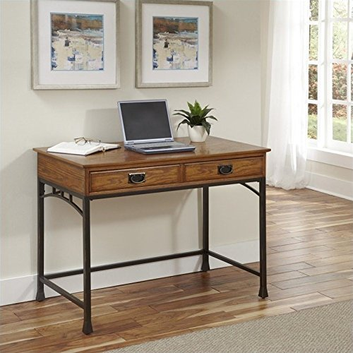 Home Styles Furniture 5050-16 Modern Craftsman Student Desk (Craftsman Style Furniture)