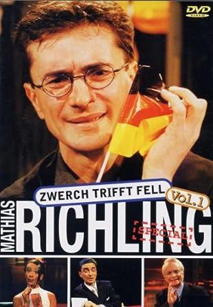 dvd von Mathias Richling - Zwerch trifft Fell 1
