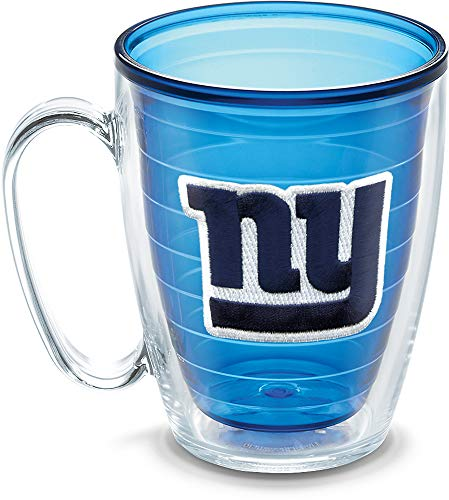 Tervis NFL New York Giants Emblem Individual Mug, 16 oz, Sapphire - 1086033