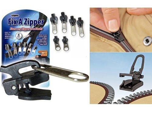 Fix A Zipper 6 Pack - Grey - As Seen on TV