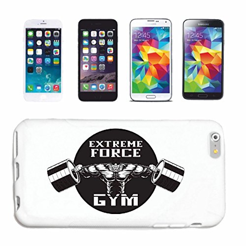 "cas de téléphone iPhone 7S ""Musculation EXTREME FORCE GYM BODYBUILDING GYM GYM muskelaufbau SUPPLEMENTS WEIGHTLIFTING BODYBUILDER"" Hard Case Cover Téléphone Covers Smart Cover pour Apple iPhone en bla"