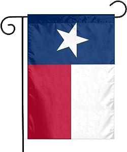 Bargburm Texas Flag Small Garden Flag Vertical Double Sided Outdoor Yard Decor 12 X 18 Inch