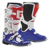 Gaerne SG-10 Boots (8) (WHITE/BLUE/RED)