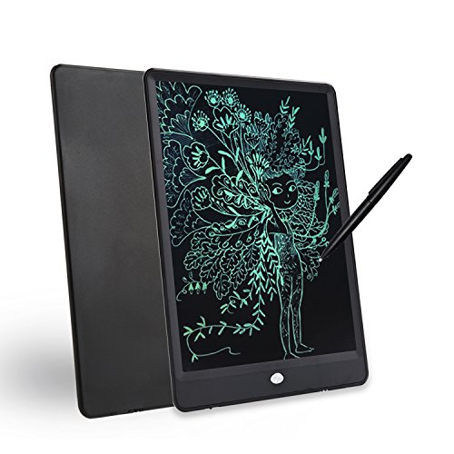 10-inch Environmental Friendly LCD Writing pad, Portable Digital Drawing Board, Message memo Electronic Tablet. Black. Orange ()