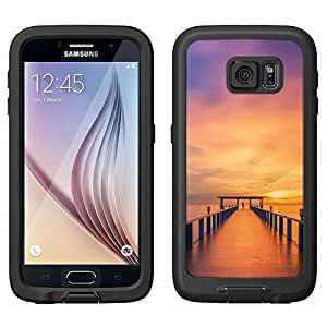 Skin Decal for LifeProof FRE Samsung Galaxy S6 Case - Sunrise Dock