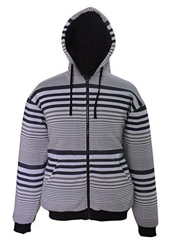 Simplicity Outdoor Men's Jacket Hoodie Coat Adjustable Size Gray by Simplicity (Image #1)
