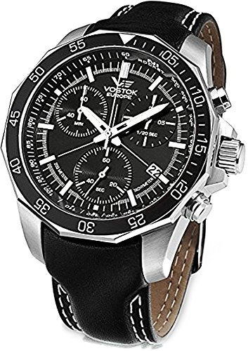 Vostok Europe N1 Rocket Russian Chrono Men's Watch 6S30-2255177