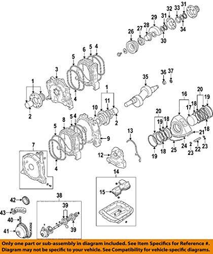 Mazda OEM 04-11 RX-8 Engine-Spacer NF0111D57 (Spacer Engine)