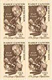 Dr. Papanicolaou/Pap Test Set of 4 x 13 Cent US Postage Stamps NEW Scot 1754