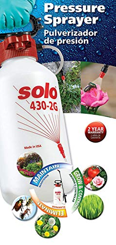 Solo 430-2G 2-Gallon Farm and Garden Sprayer with Nozzle Tips for Multiple Spraying Needs (Limited Edition) - - Amazon.com
