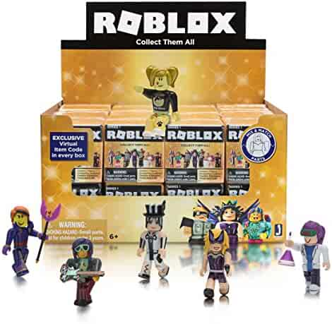 Roblox Celebrity Collection Series 1 Mini Mystery Figures Gold Box Crate