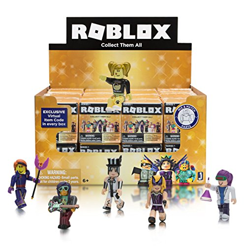 Price comparison product image Roblox Celebrity Collection Series 1 Mini Mystery Figures Gold Box Crate