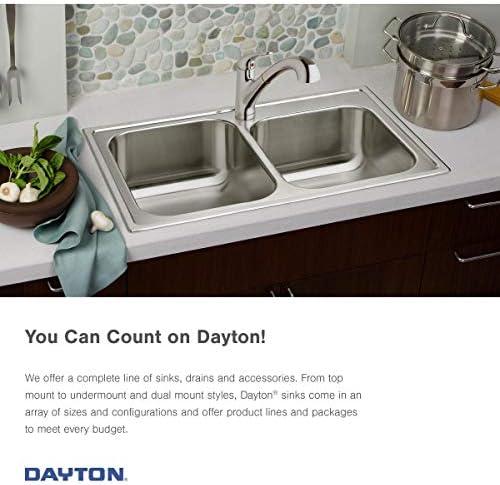 Elkay GE12521L4 Dayton Single Bowl Drop-in Stainless Steel Sink