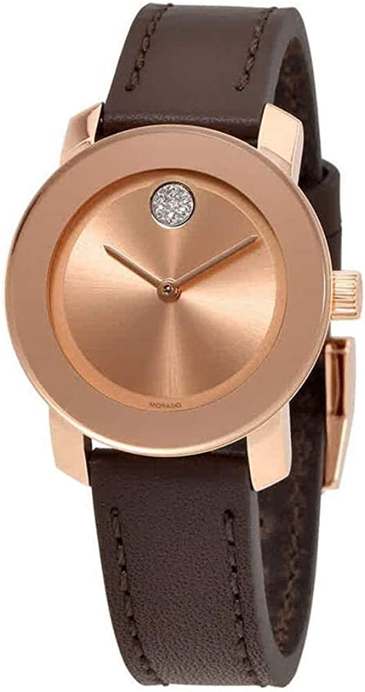 Movado Women s Bold – 3600438 Rose Gold Tone One Size