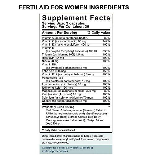 upc 895749000943 product image for FertilAid for Women: Female Fertility Supplement - 2 Month Supply