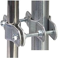 Pole to Pole Mount - EZ EC-PTP-8 Mast Brackets - Easy Up Brand - USA Made