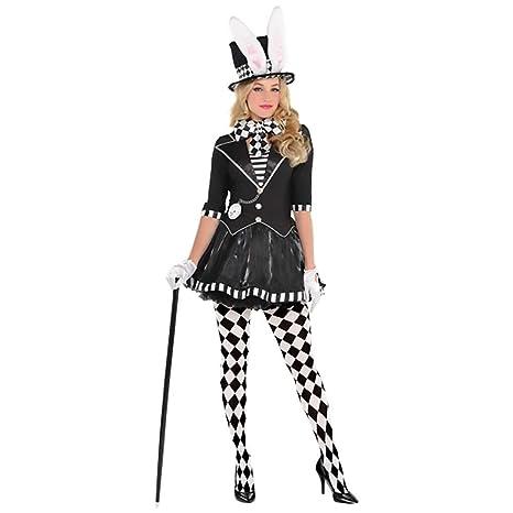 46a2f7d5a15cc Sombrerero Loco Disfraz para Mujer Dark el Sombrerero Loco de Alicia en el  país de Las