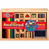 T.S. Shure Artful Architecture Wooden Stamp Set