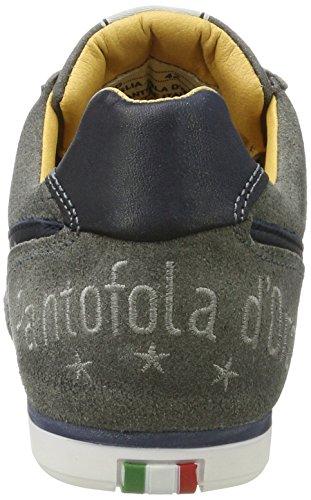 Pantofola dOro Herren Vasto Suede Uomo Low Sneaker Grau (Castlerock)