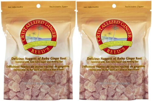 Reed's Crystallized Ginger Candy - 3.5 oz - 2 ()
