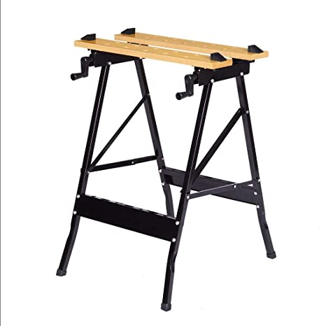 Peachy Multi Purpose Folding Workbench And Vice Portable Work Lamtechconsult Wood Chair Design Ideas Lamtechconsultcom