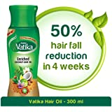 Vatika Enriched Coconut Hair Oil for Hair Fall Control - 300ml