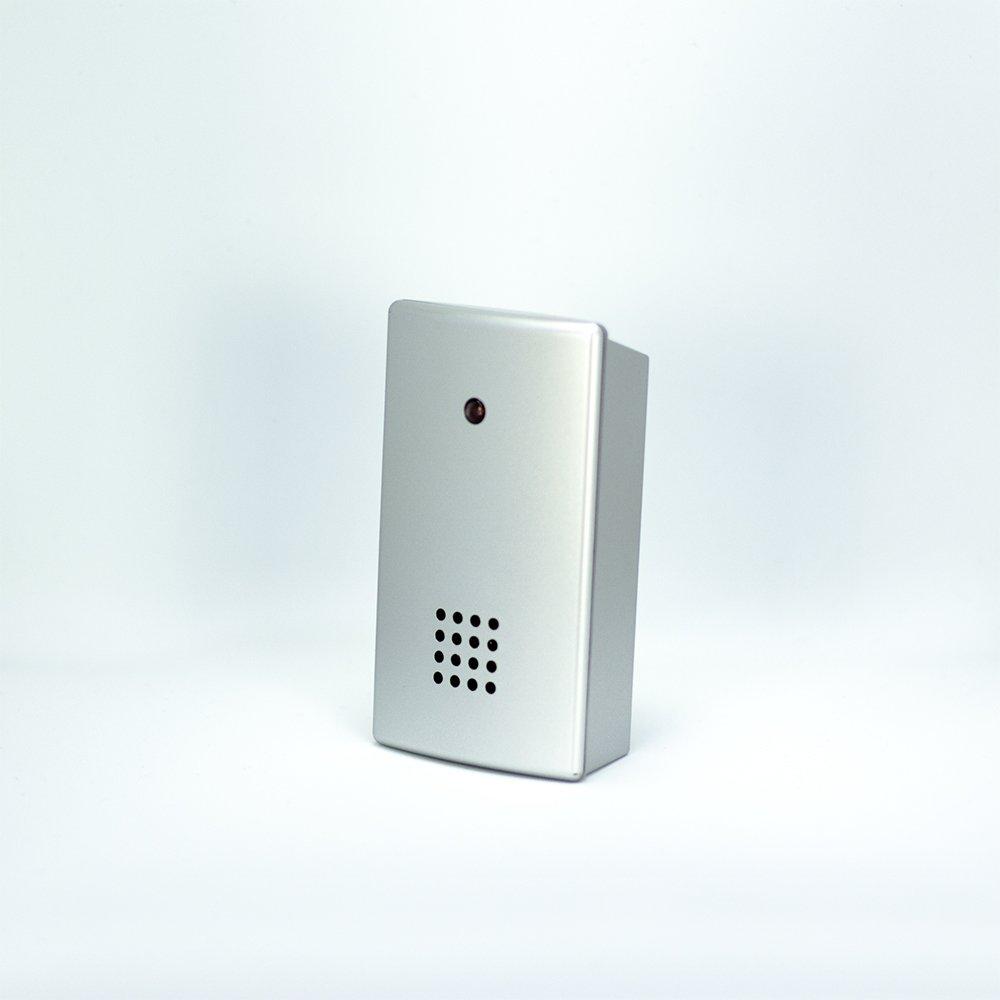 Alfombra con sensores de presión| Anticaídas| Transmisor de radio| con Receptor móvil| Colocación junto a la cama| Para el cuidado en el hogar| 70cm x 40cm| ...