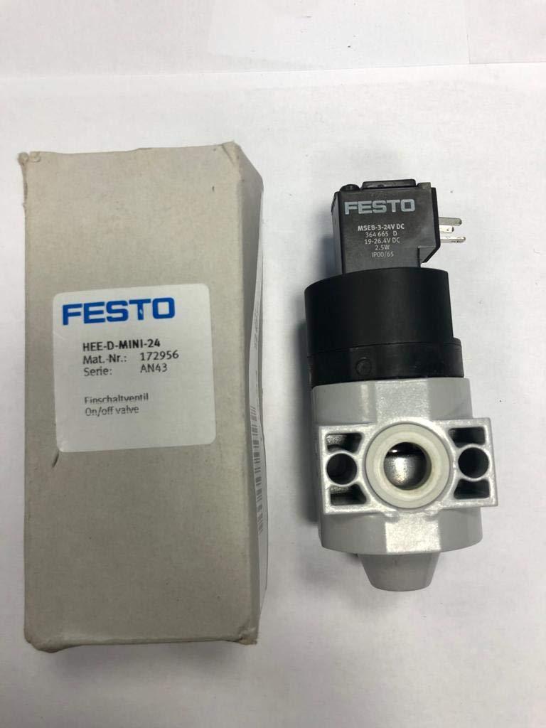 Festo 172956/hee-d-mini-24/on//off V/álvula